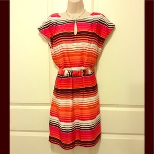 Banana Republic 12 Shift Dress With Belt
